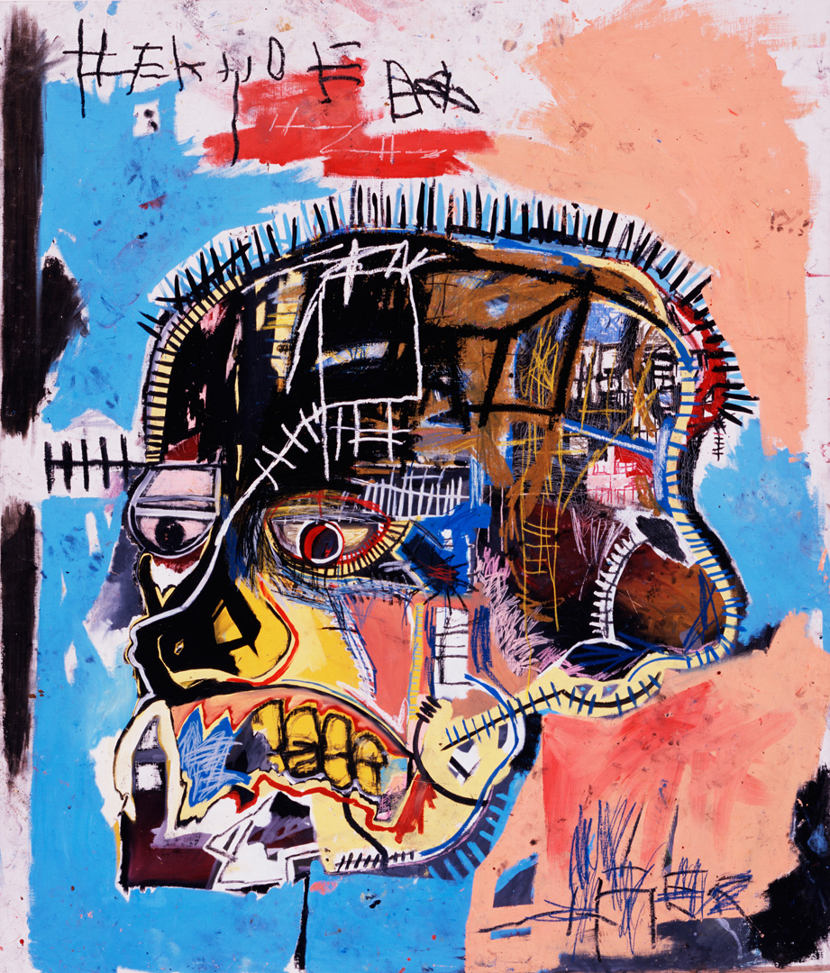 Jean‐Michel Basquiat - Untitled, 1981, acrylic and oilstick on canvas