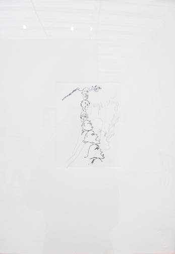 Joseph Beuys - Collezione di grafica: Untitled, 1982, etching and pencil drawing on wove