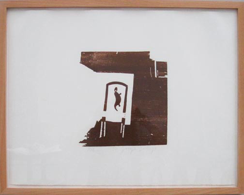 Joseph Beuys - Holzschnitte: Esse, 1951/1973-74, woodcut, hand-printed in brown on wove, in portfolio