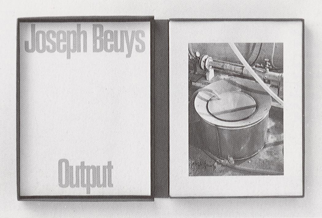 Joseph Beuys - Output, 1978, 40 black and white photographs by Werner Krüger, in box