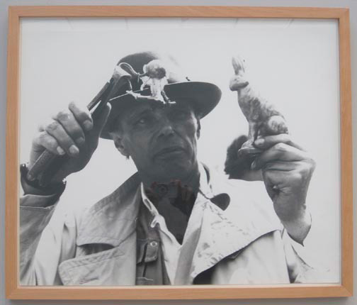 Joseph Beuys - Photo-Editionen, 1982-83, one of eight photographs by Zoa