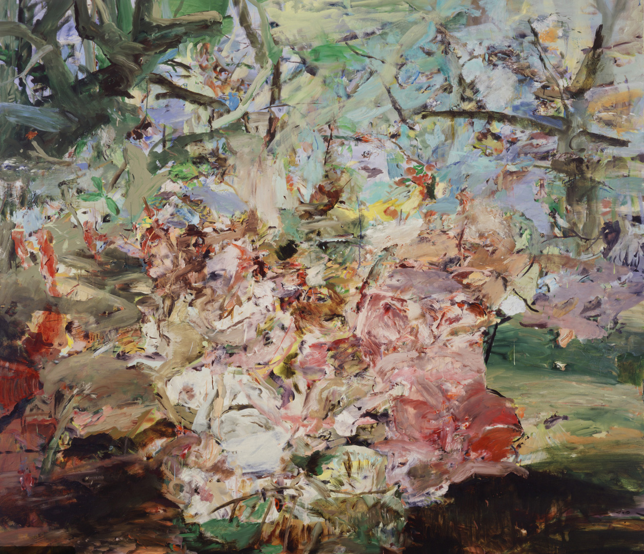Cecily Brown - Figures in a Landscape 2, 2002, oil on linen