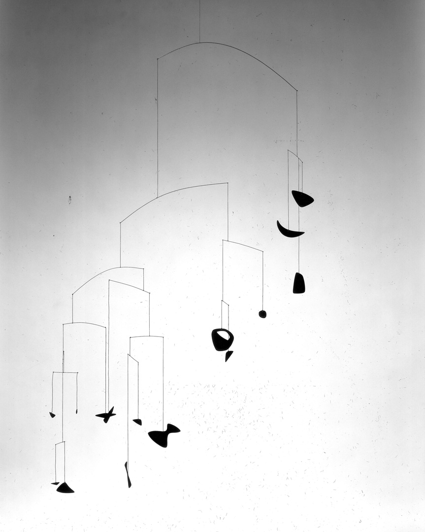 Alexander Calder - Untitled, circa 1941, sheet metal, paint, string and wire
