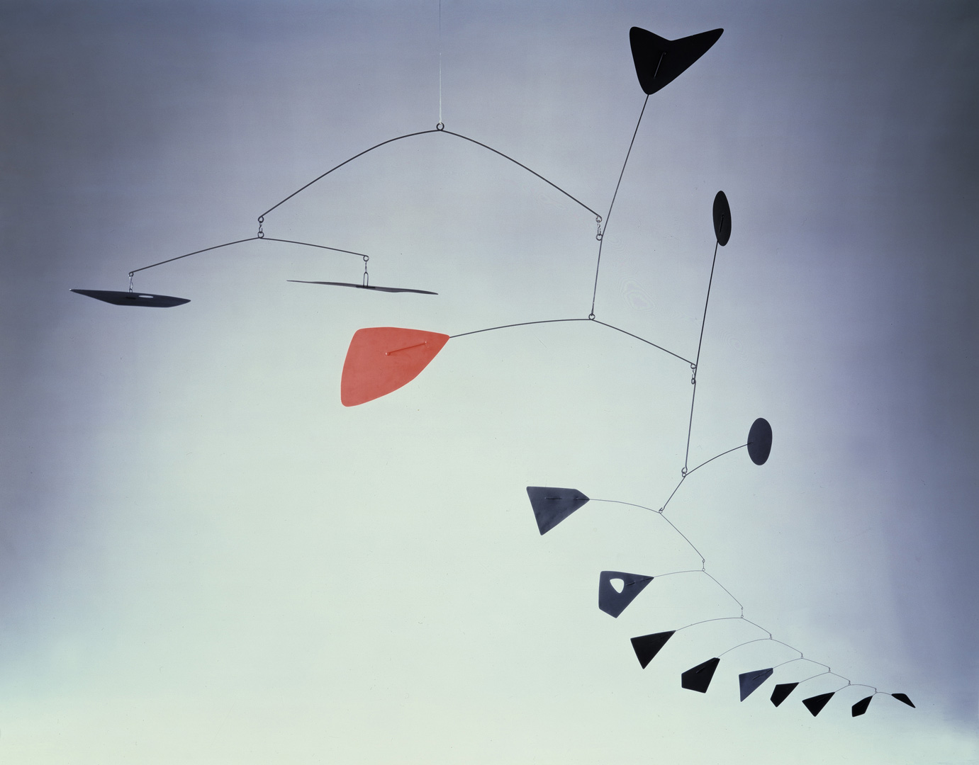 Alexander Calder - Untitled, 1948, painted sheet metal and wire