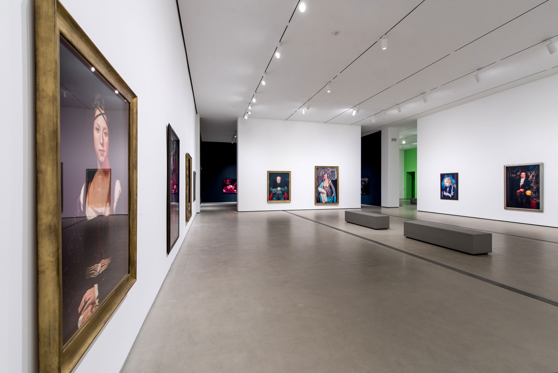 Cindy Sherman: Imitation of Life Installation Photo