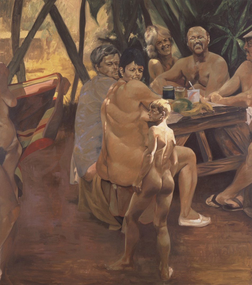 Eric Fischl - Nick's Picnic, 1992, oil on canvas