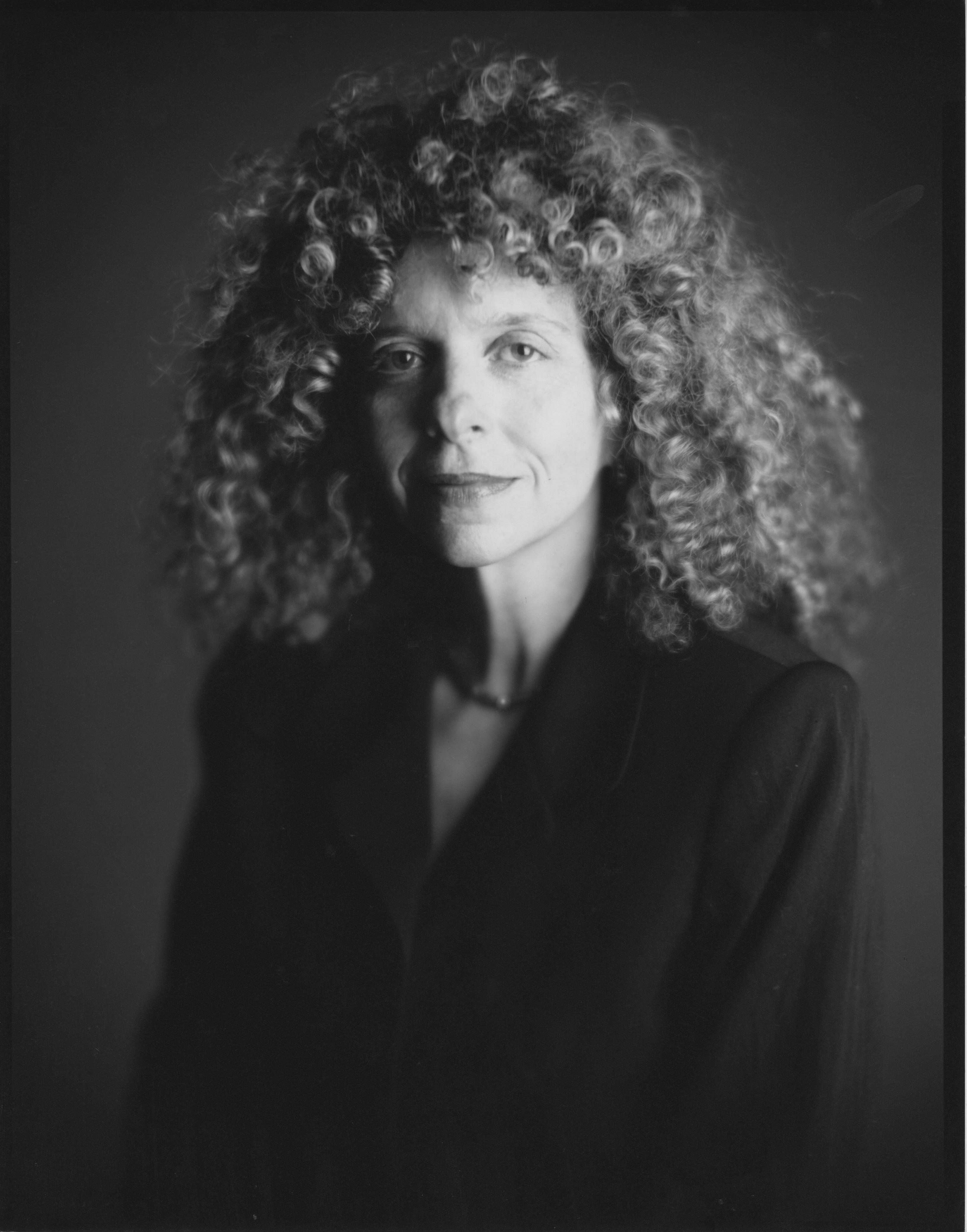 Portrait of Barbara Kruger The Broad : greenfieldsanderskruger from thebroad.org size 3258 x 4150 jpeg 2432kB
