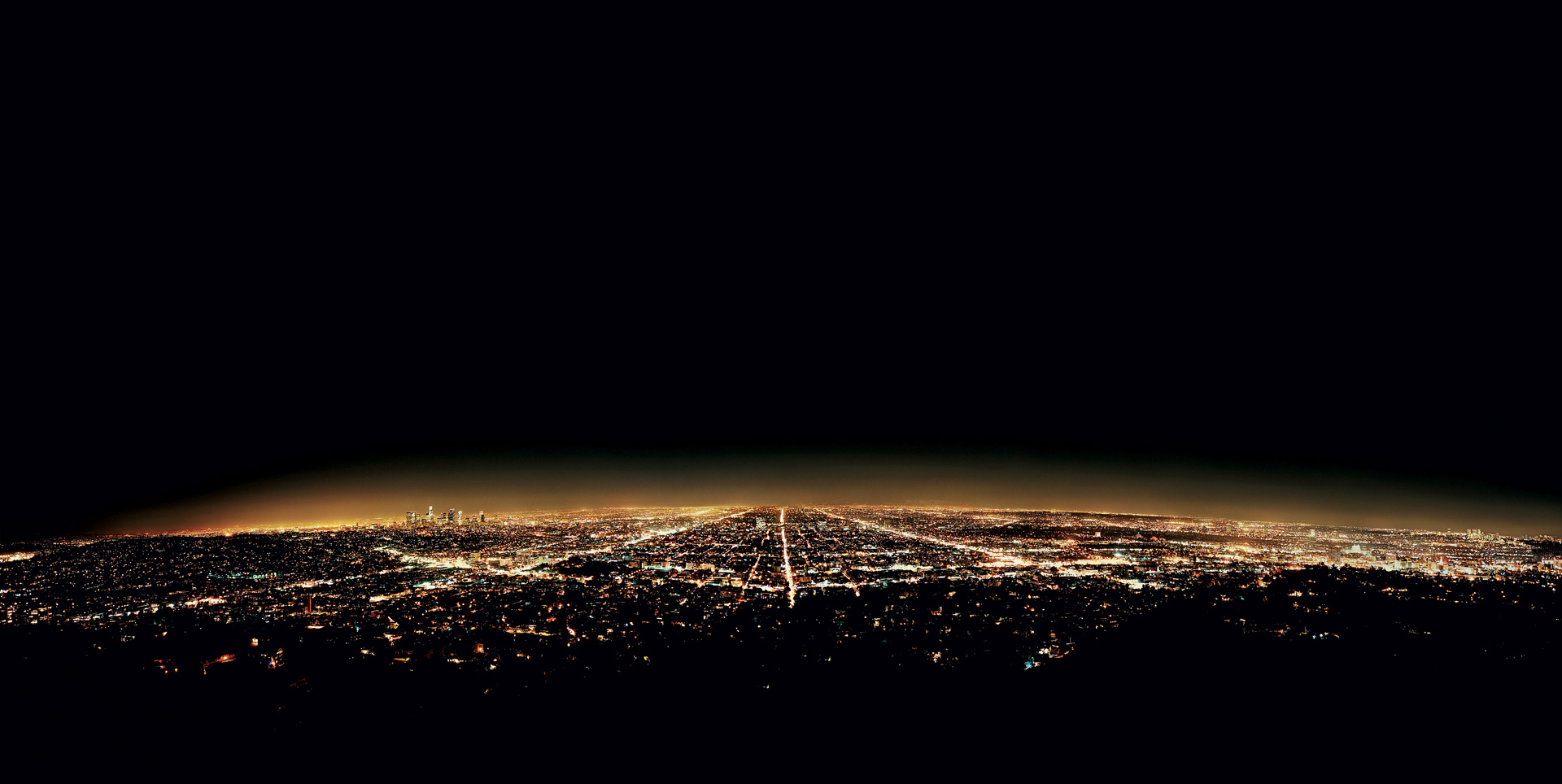 Andreas Gursky - Los Angeles, 1998, chromogenic print mounted on Plexiglas in artist's frame
