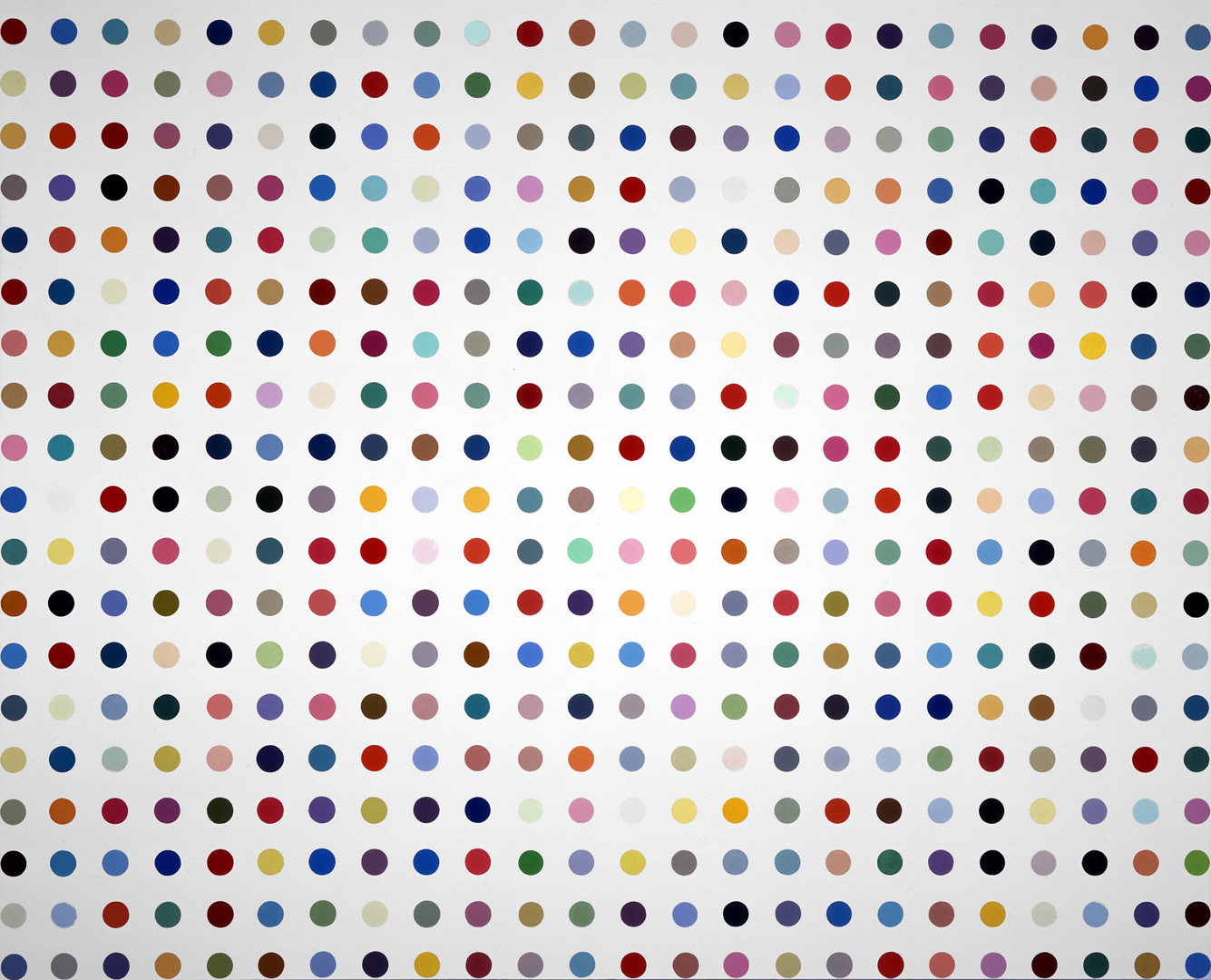 Damien Hirst - Chlorpropamide, 1996, household gloss on canvas