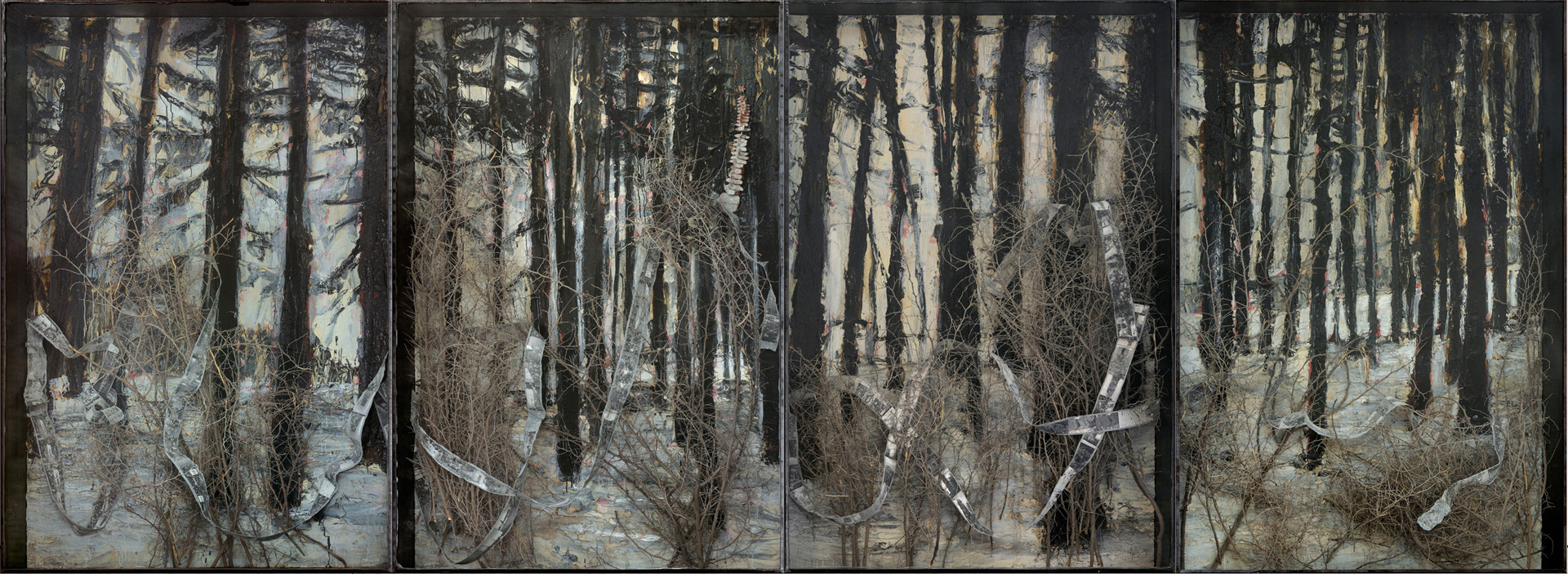 Infinity For Sale >> Entrance to Paradise - Anselm Kiefer | The Broad