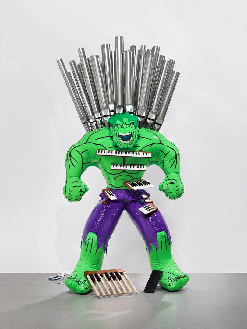 Jeff Koons - Hulk (Organ), 2004 - 2014, polychromed bronze and mixed media