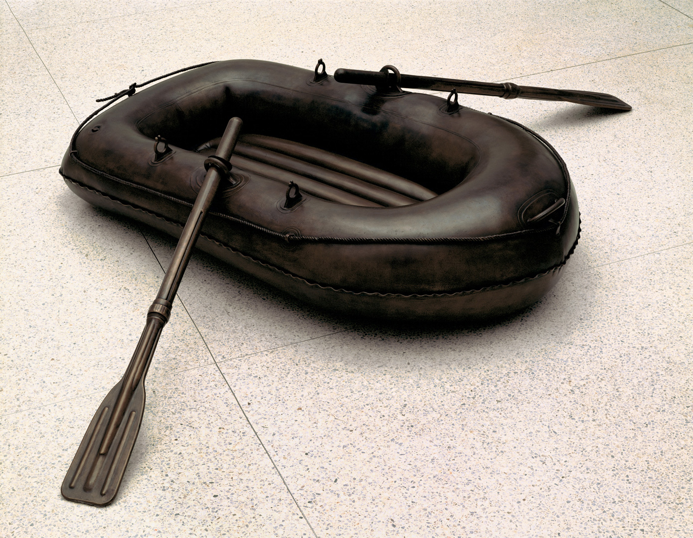 Jeff Koons - Lifeboat, 1985, bronze