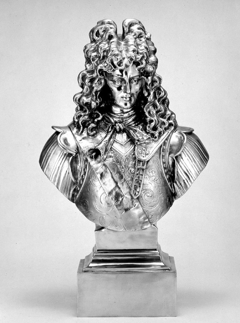 Jeff Koons - Louis XIV, 1986, stainless steel