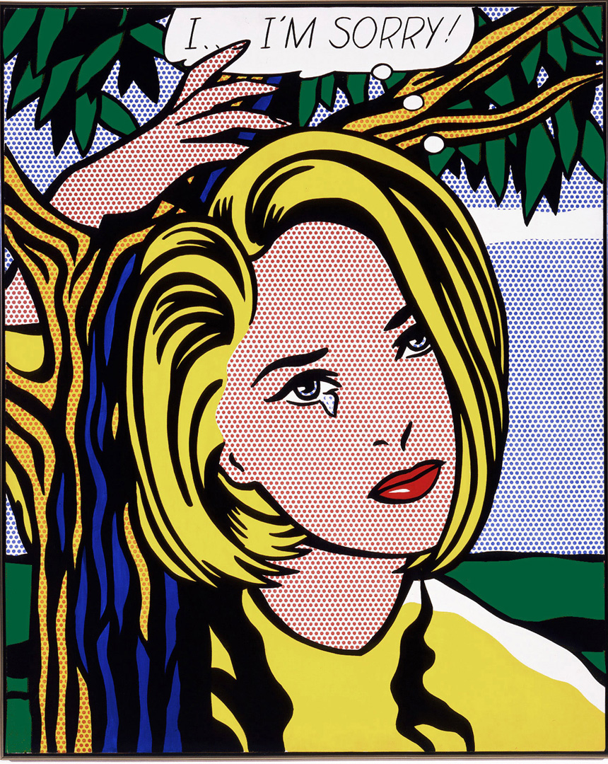 I I M Sorry Roy Lichtenstein The Broad