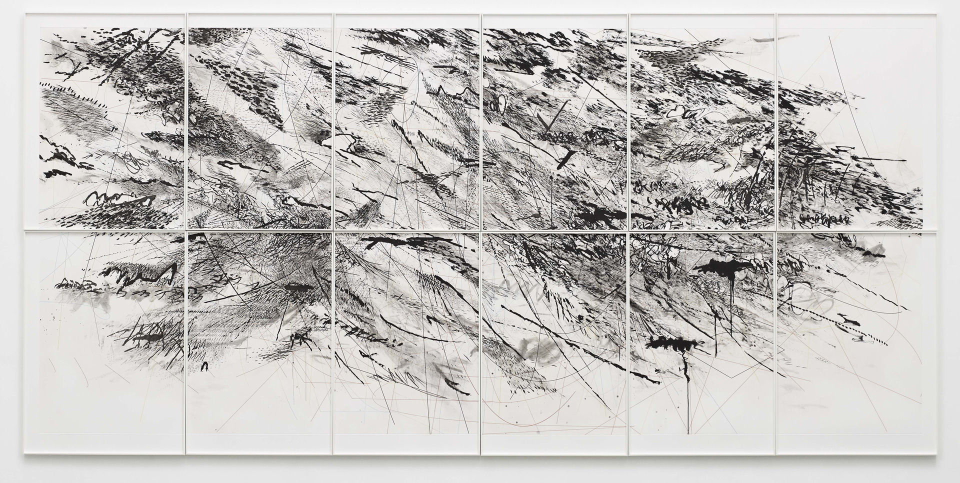 a personal analysis of the artwork stadia ii by julie mehretu As a child, julie mehretu liked to make stuff i was alwaysvery interested in making, drawing and painting, she said, constantly but even as a young adult, she recalls, i didn't.
