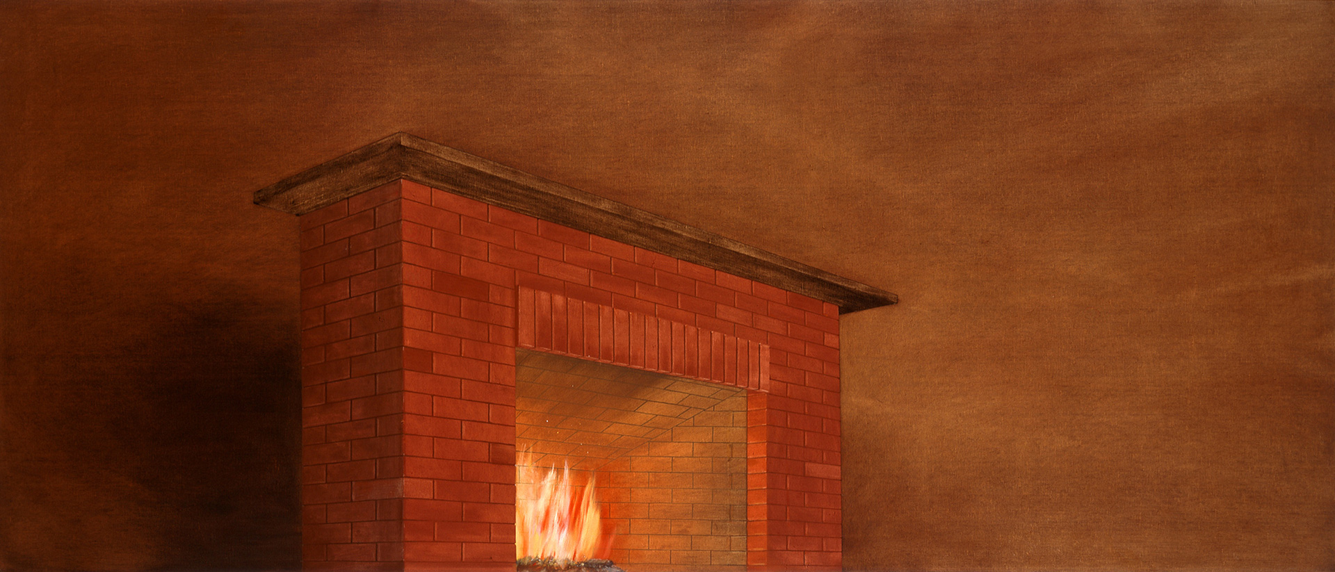 Ed Ruscha - No End to the Things Made Out of Human Talk, 1977, oil on canvas