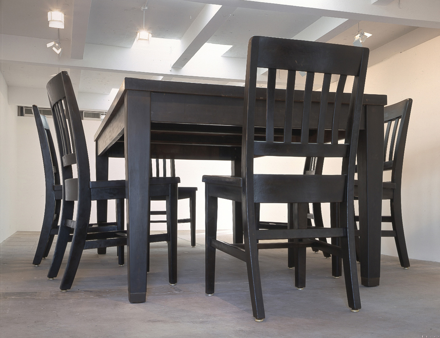 Under the Table – Art Dining Room Furniture