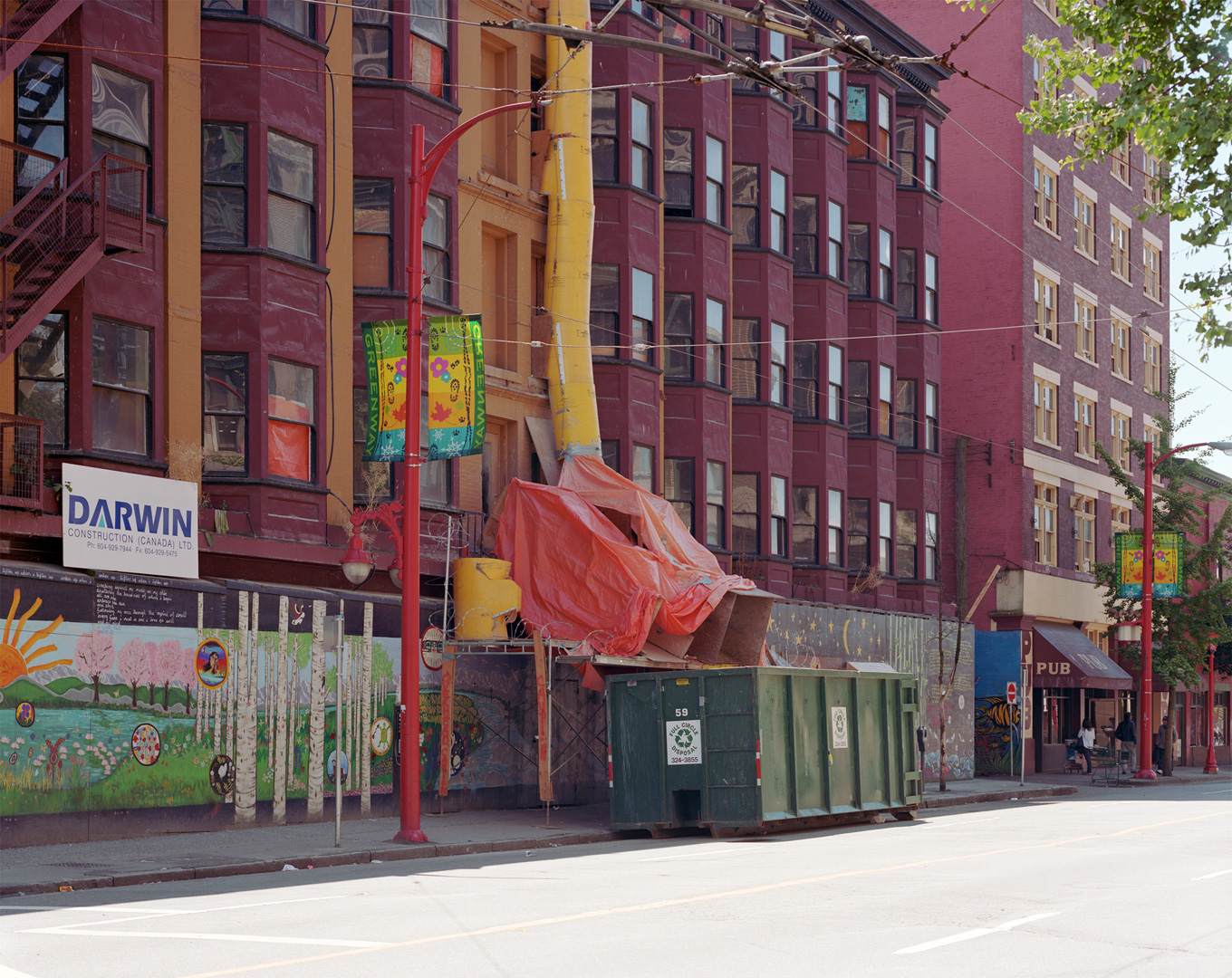Hotels Carrall St Vancouver Summer 2005 Jeff Wall