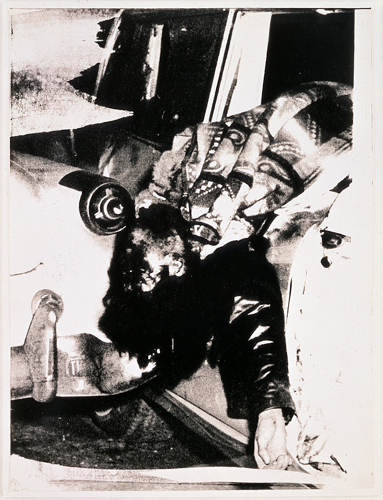 Andy Warhol - Ambulance Disaster, circa 1963, screenprint on Strathmore drawing paper