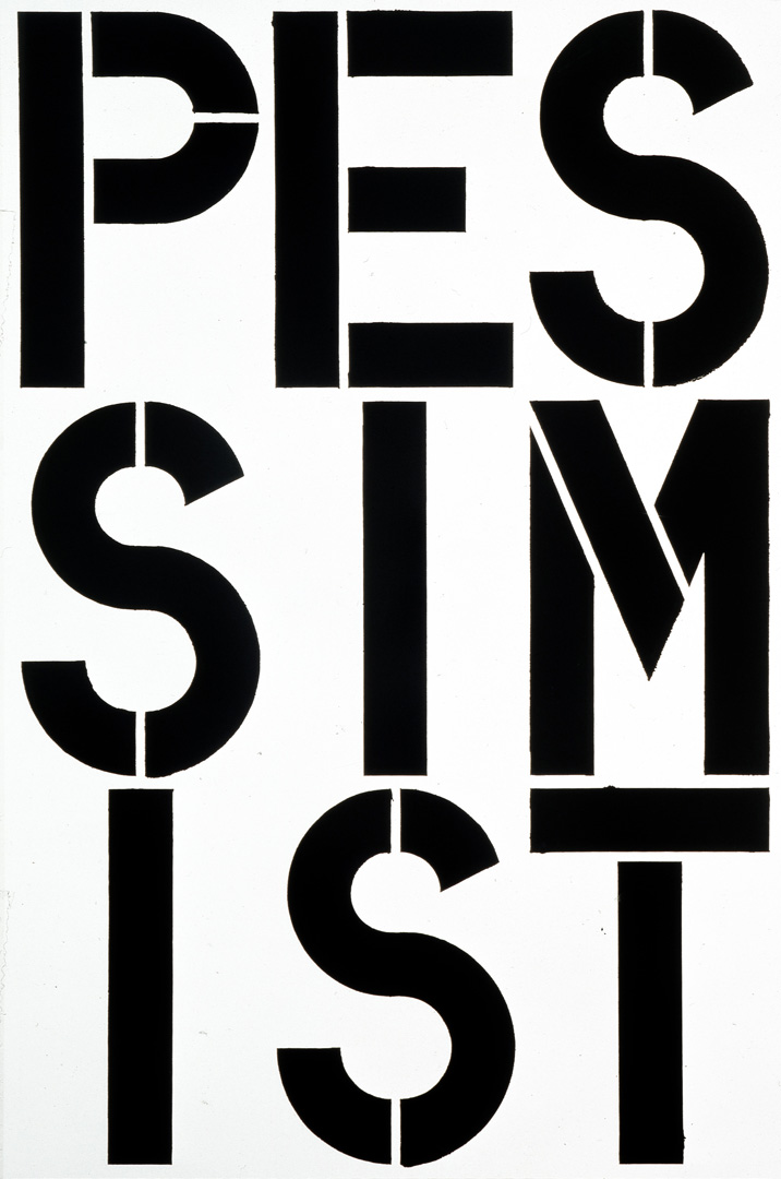 Christopher Wool - Untitled, 1989, enamel and acrylic on aluminum