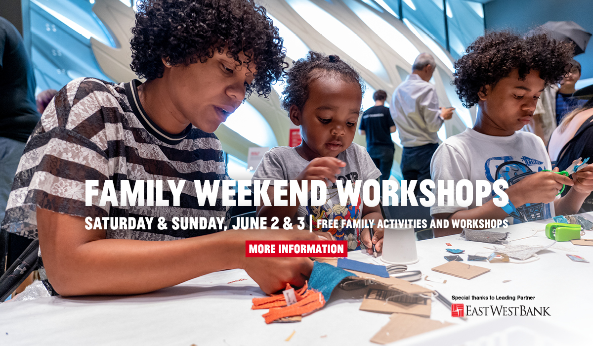 Family Weekend Workshops   June 2-3, 2018