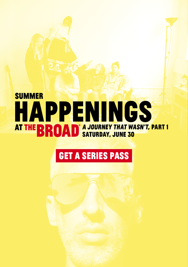 2018 Summer Happenings at The Broad kick off June 30