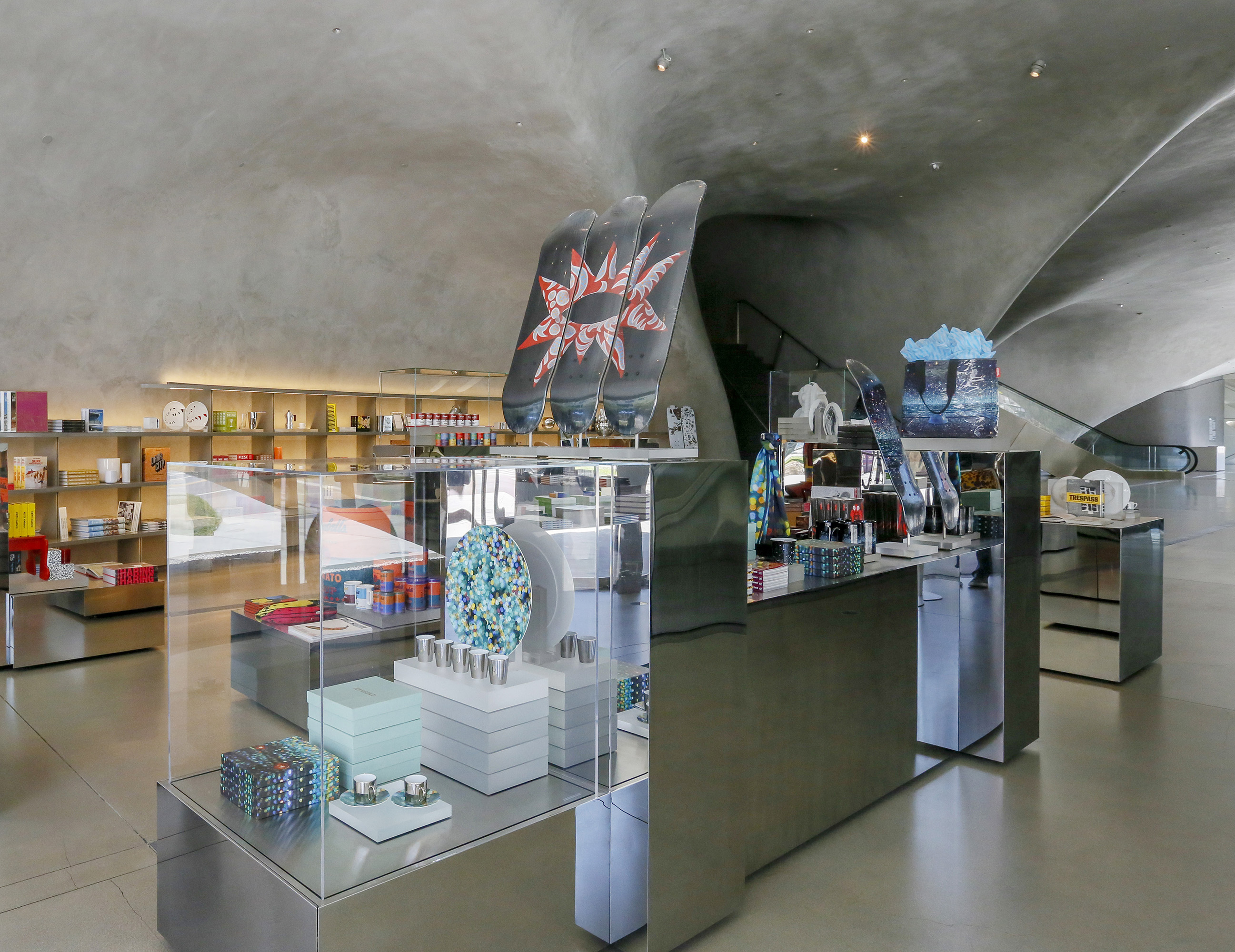 Photo of The Shop at The Broad, the museum's gift shop