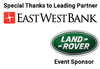 Special Thanks to Leading Partner East West Bank and Event Sponsor Land Rover