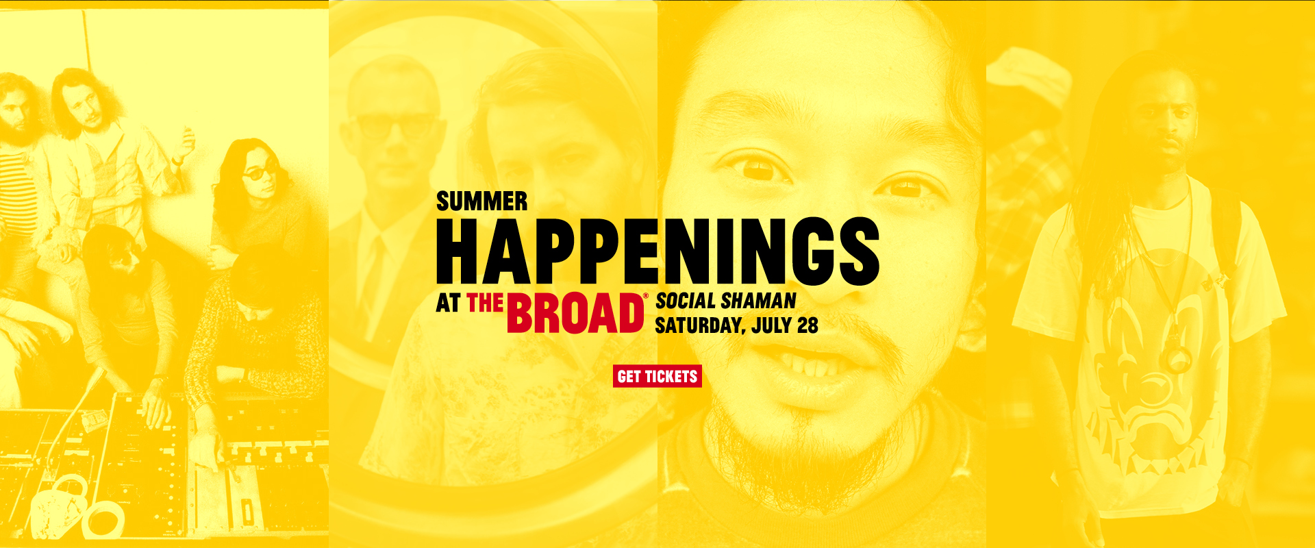 2018 Summer Happenings at The Broad continue July 28