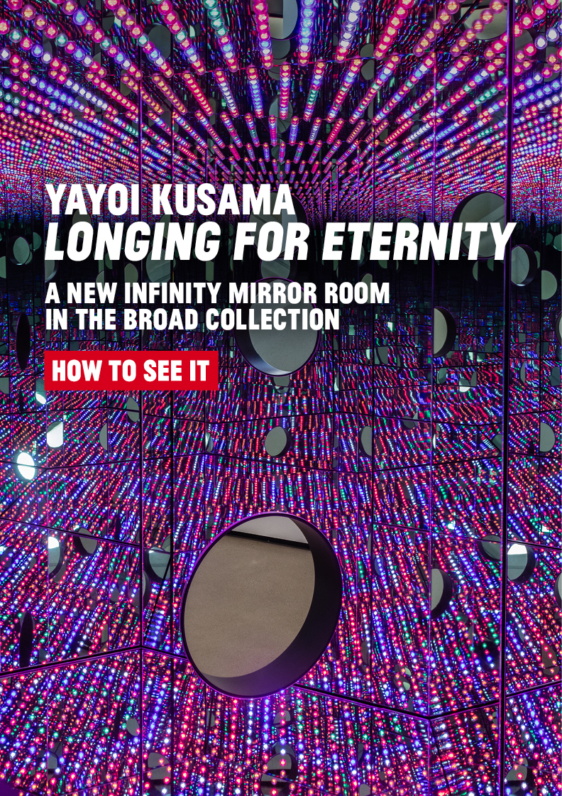 Yayoi Kusama's Longing for Eternity. A new Infinity Mirror Room in the Broad collection is now on view!