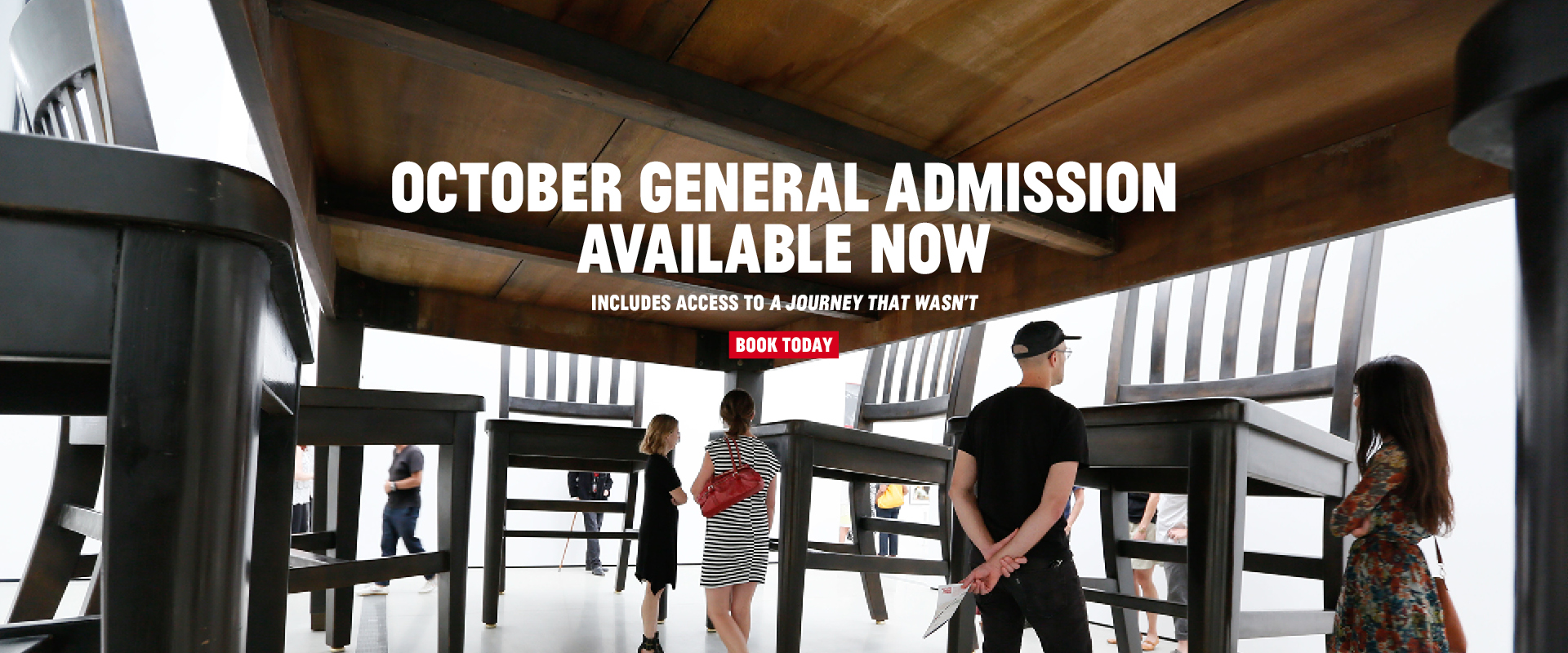 October general admission tickets are now available