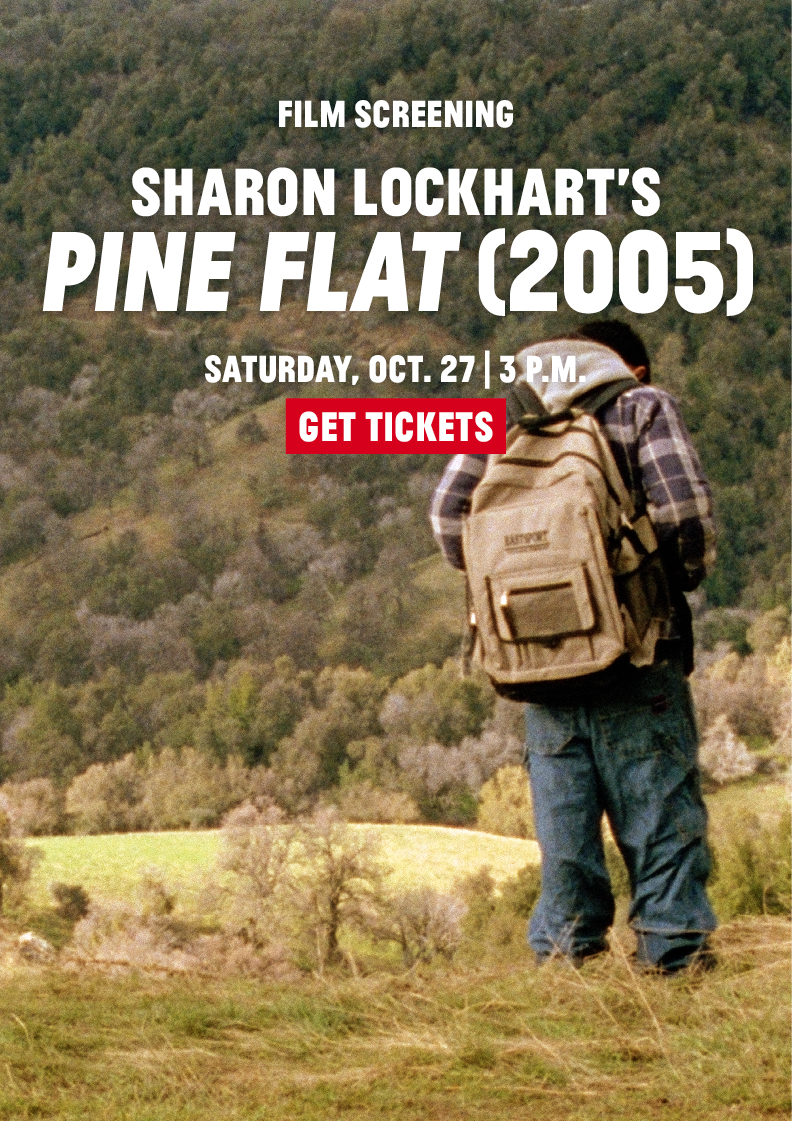 Film Screening: PINE FLAT, 2005 (Sharon Lockhart)