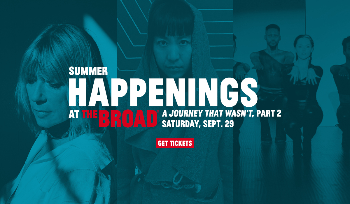 2018 Summer Happenings at The Broad conclude Sept. 29