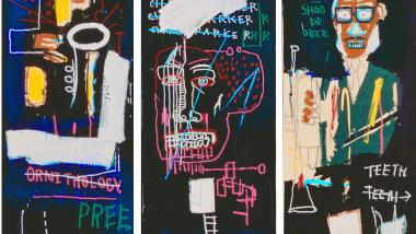 Jean-Michel Basquiat's Horn Players