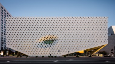 exterior of The Broad by photographer Mike Kelley