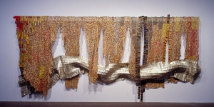 El Anatsui - Strips of Earth's Skin, 2008