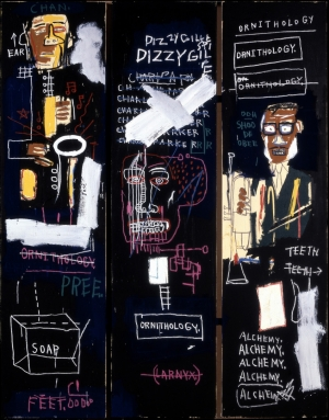 Jean‐Michel Basquiat - Horn Players, 1983