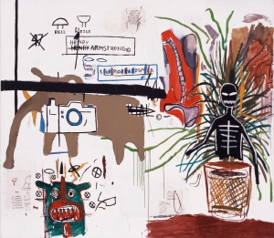 Jean‐Michel Basquiat - Wicker, 1984