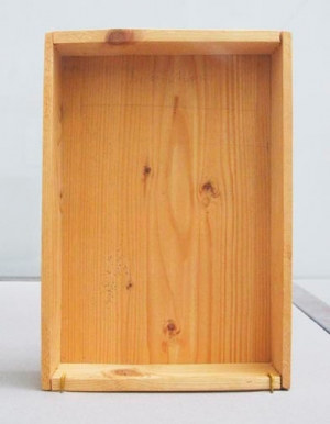 Joseph Beuys - Intuition, 1968, wooden box with pencil drawing