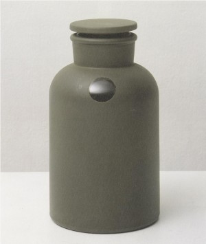 Joseph Beuys - Mirror-Piece, 1975, Flask, exterior lacquered, interior mirror-plated, with iodine crystal