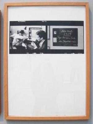 Joseph Beuys - Nur noch 2425 Tage ...., 1980, offset on cardstock