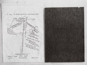 Joseph Beuys - So kann die Parteiendiktatur überwunden werden, 1971, printed polyethylene shopping bag with information sheets and felt object