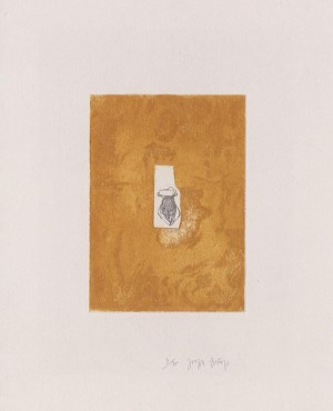 Joseph Beuys - Suite Zirkulationszeit: Honigtopf, 1982, etching and aquatint on white wove