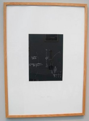 Joseph Beuys - Tafel I, 1980, silkscreen on cardstock
