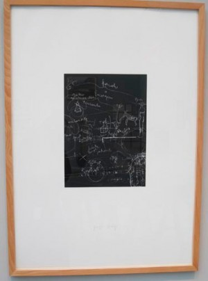 Joseph Beuys - Tafel II, 1980, silkscreen on cardstock