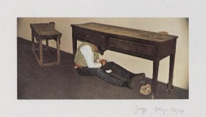 Joseph Beuys - Terremoto in palazzo, 1983, color offset on wove