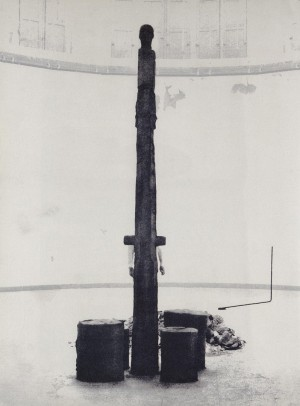 Joseph Beuys - Tramstop, 1977, silkscreen on cardstock