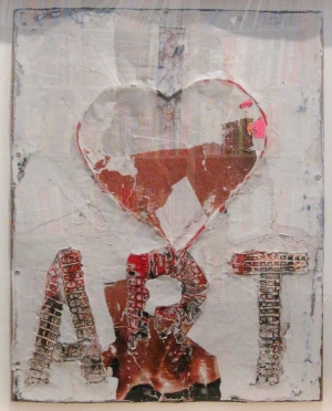 Mark Bradford - Untitled, 2009, mixed media
