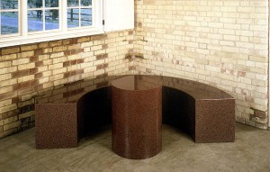 Scott Burton - Bench and Table, 1989-90