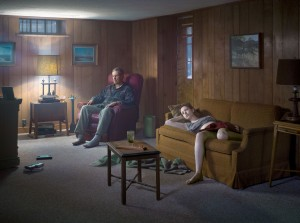 Gregory Crewdson - The Basement, 2014, digital pigment print